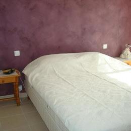 Chambre rez de chaussée lit de 160 cm - Location de vacances - Saint Jean de Monts
