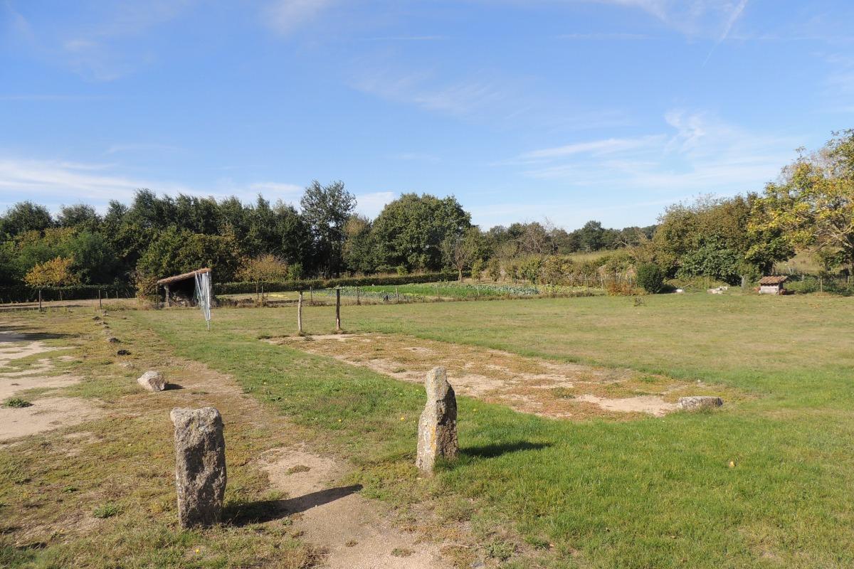 Vue côté jardin - Location de vacances - Beaurepaire
