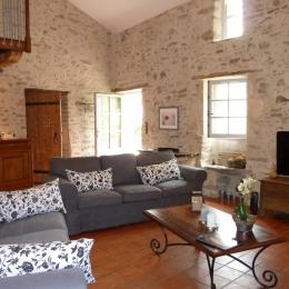 Salon - Location de vacances - Château Guibert