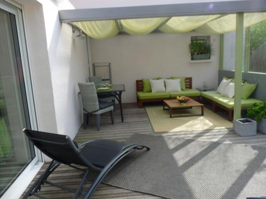 Terrasse en bois 40m2 - Location de vacances - Olonne sur Mer