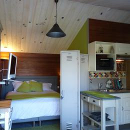 Lit de 160 modulable en 2 lits de 80 - Location de vacances - Olonne sur Mer