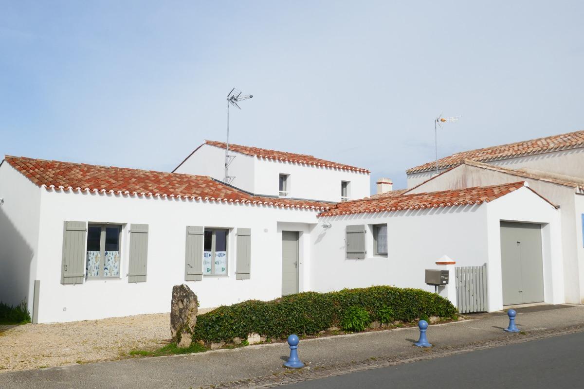 facade rue - Location de vacances - L'Épine