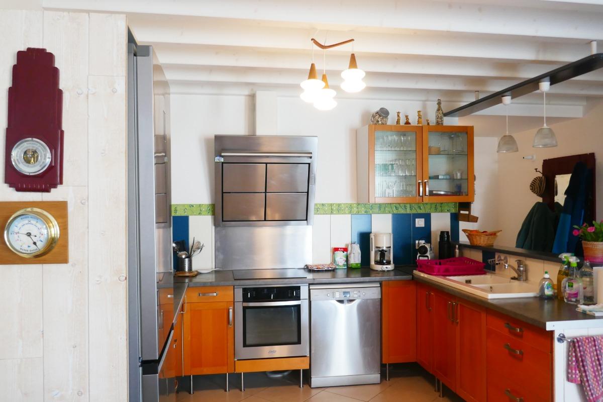 vue sur cuisine - Location de vacances - L'Épine
