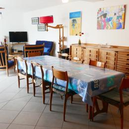 couloir chambres - Location de vacances - L'Épine