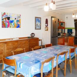 salle a manger - Location de vacances - L'Épine