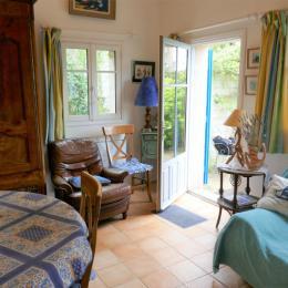 Chambre lit 140 cm - Location de vacances - La Barre de Monts - Fromentine