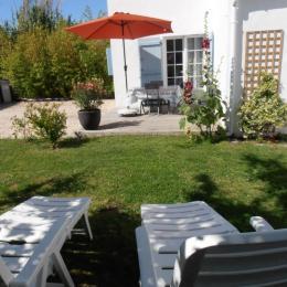 Le jardin - Location de vacances - Noirmoutier en l'Île