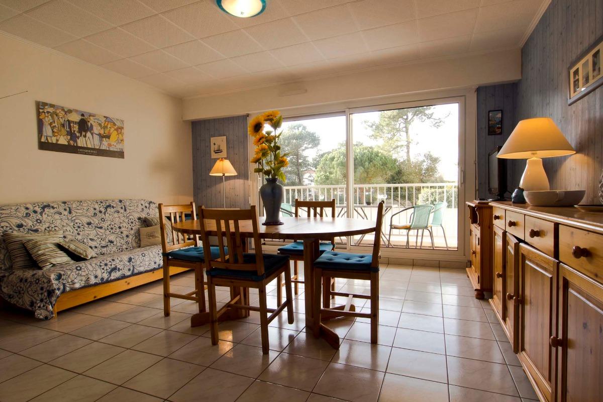 Pièce de vie - Location de vacances - Les Sables-d'Olonne