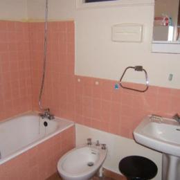 Salle de bain - Location de vacances - La Guérinière