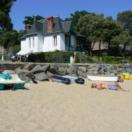 la maison donnant directement sur la plage - Chambre d'hôtes - Noirmoutier en l'Île