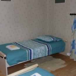 chambre 1 :  2 lits de 90 - Chambre d'hôtes - La Jaudonnière