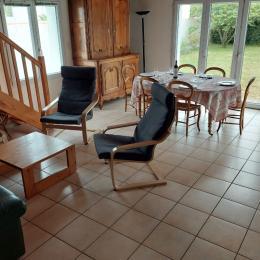 Salle de séjour - Location de vacances - La Guérinière