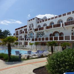 façade avant de la résidence - Location de vacances - La Tranche sur Mer