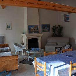 Séjour-salon - Location de vacances - La Tranche sur Mer