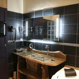 Salle de bain luxueuse - Chambre d'hôtes - Moreilles