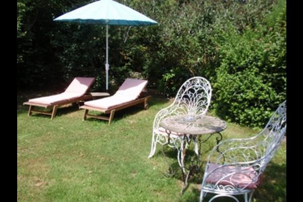 Jardin privé et secret - Chambre d'hôtes - Moreilles