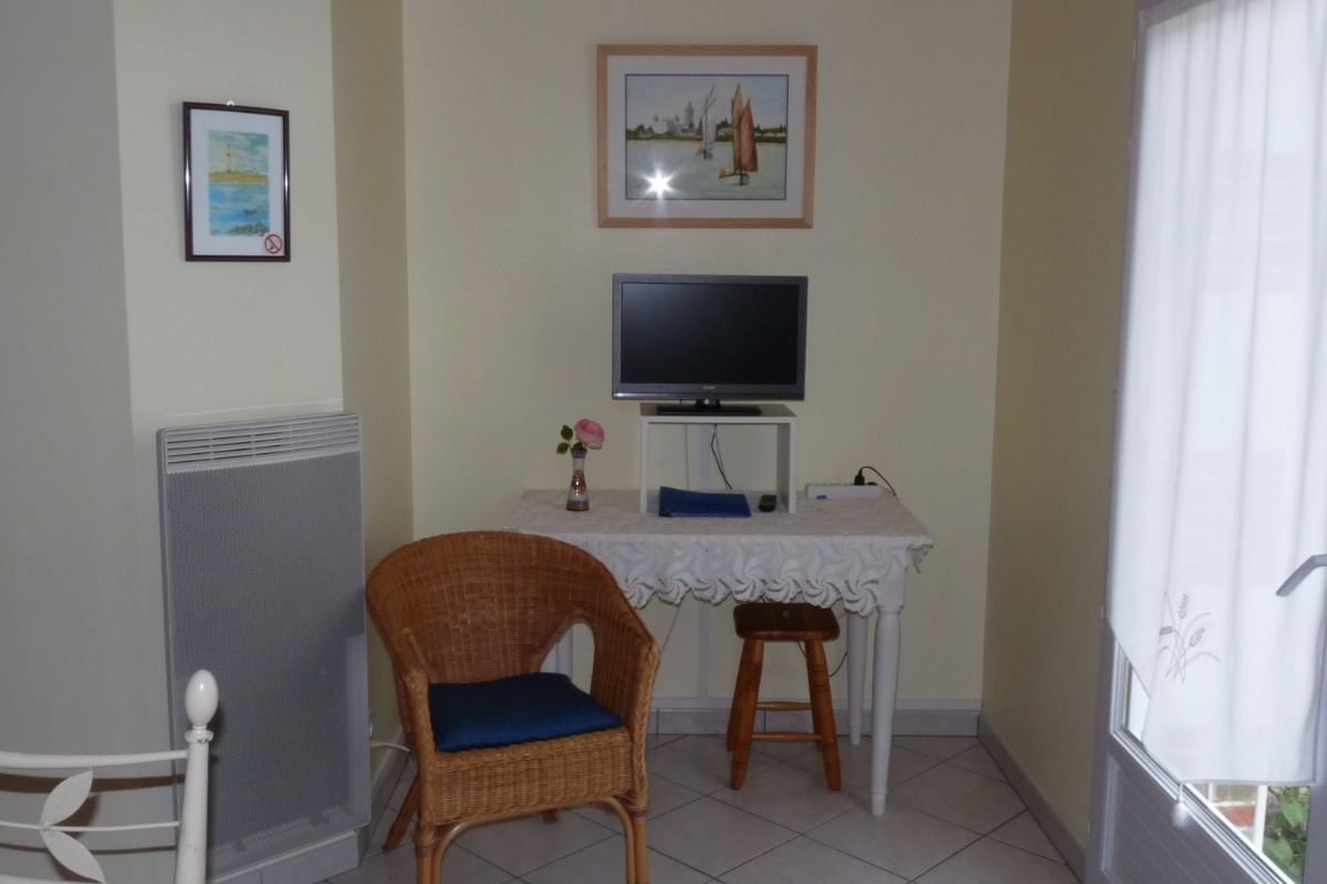 Coin télé - Chambre d'hôtes - Saint Jean de Monts