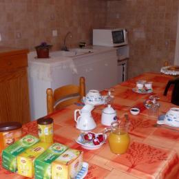 Salle de petit-déjeuner - Chambre d'hôtes - Saint Jean de Monts