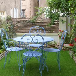 Jardin arboré et fleuri - Location de vacances - Talmont Saint Hilaire