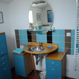 Salle d'eau / WC - Chambre d'hôtes - Noirmoutier en l'Île