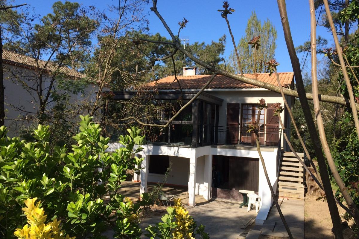 façade maison - Location de vacances - La Tranche sur Mer
