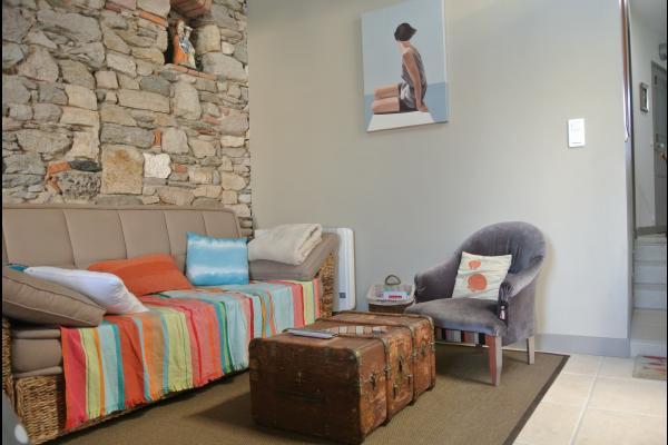 Coin séjour-salle à manger - Location de vacances - Les Sables-d'Olonne