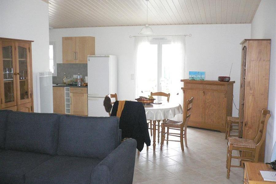 Salon/séjour - Location de vacances - La Barre de Monts - Fromentine
