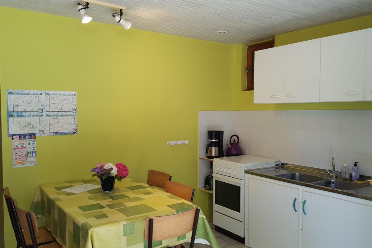 Terrasse - Location de vacances - Martinet