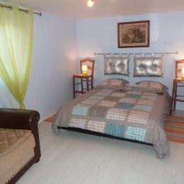 Chambre 1 - Location de vacances - La Meilleraie Tillay