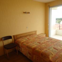 Chambre sur balcon - vue mer latérale - Location de vacances - Saint Jean de Monts