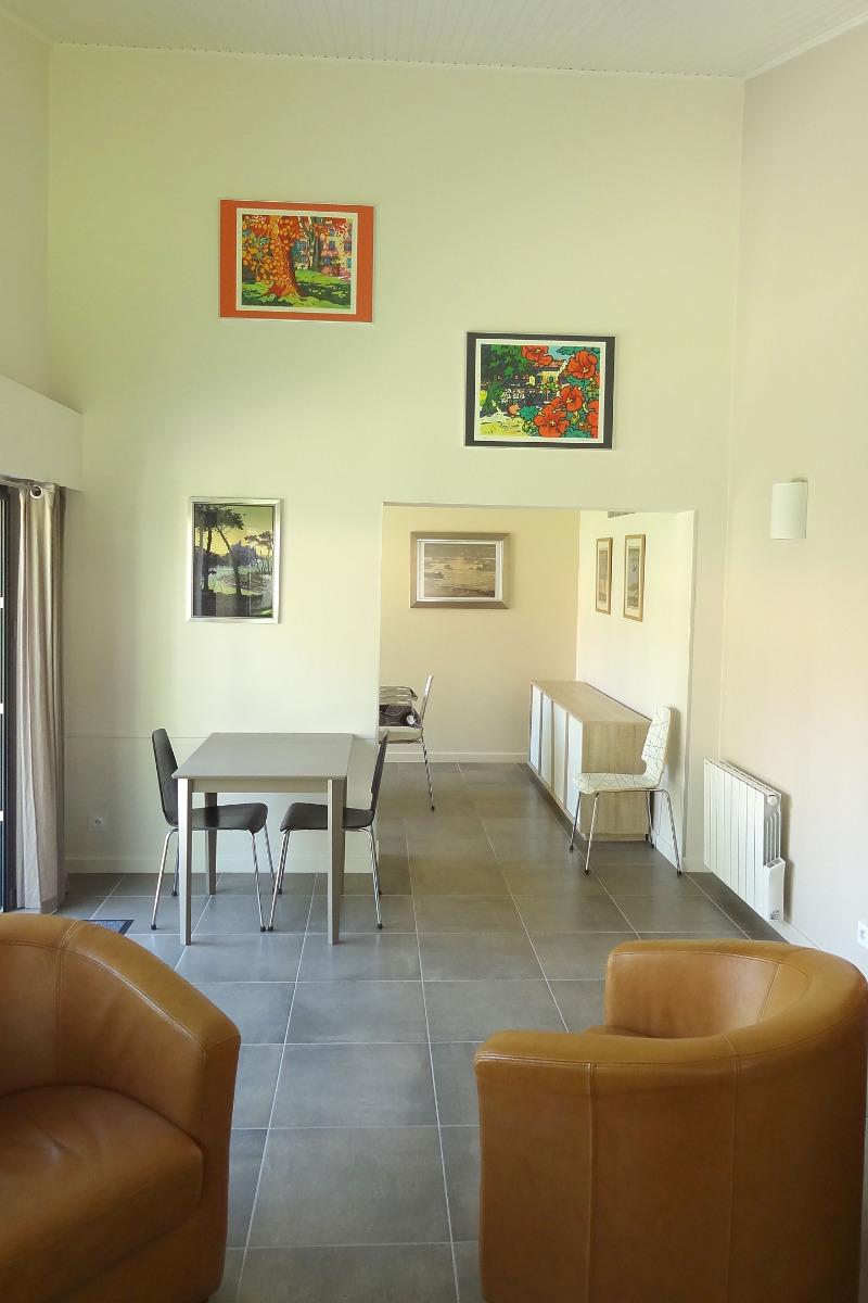 le coin salon - Location de vacances - Saint Jean de Monts