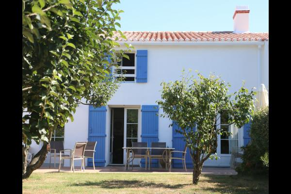 La maison et sa terrasse, plein sud - Location de vacances - Noirmoutier en l'Île
