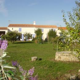 La maison vue du jardin - Location de vacances - Noirmoutier en l'Île