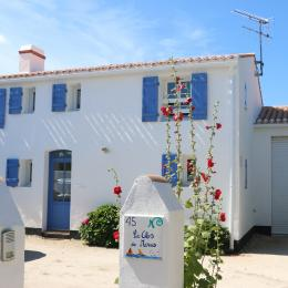 Le Clos des Marais, côté cour.   - Location de vacances - Noirmoutier en l'Île