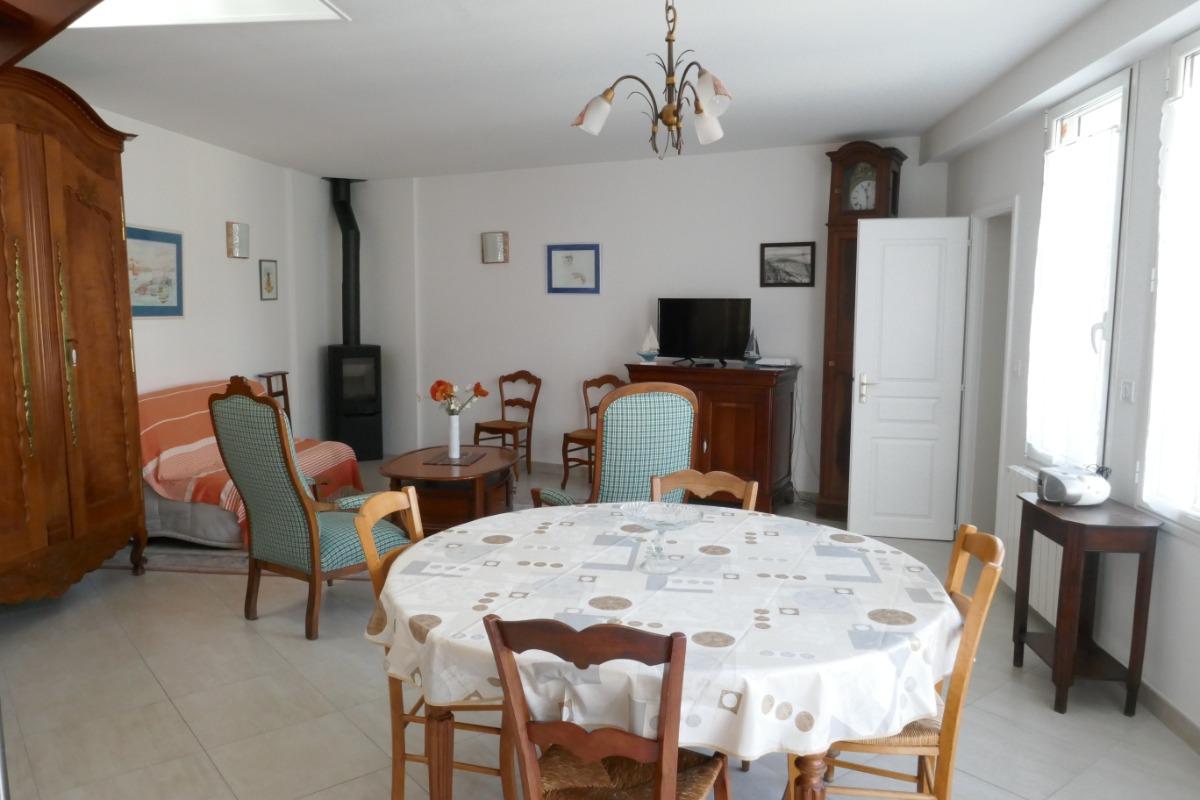 Salon/séjour - Location de vacances - Les Sables-d'Olonne