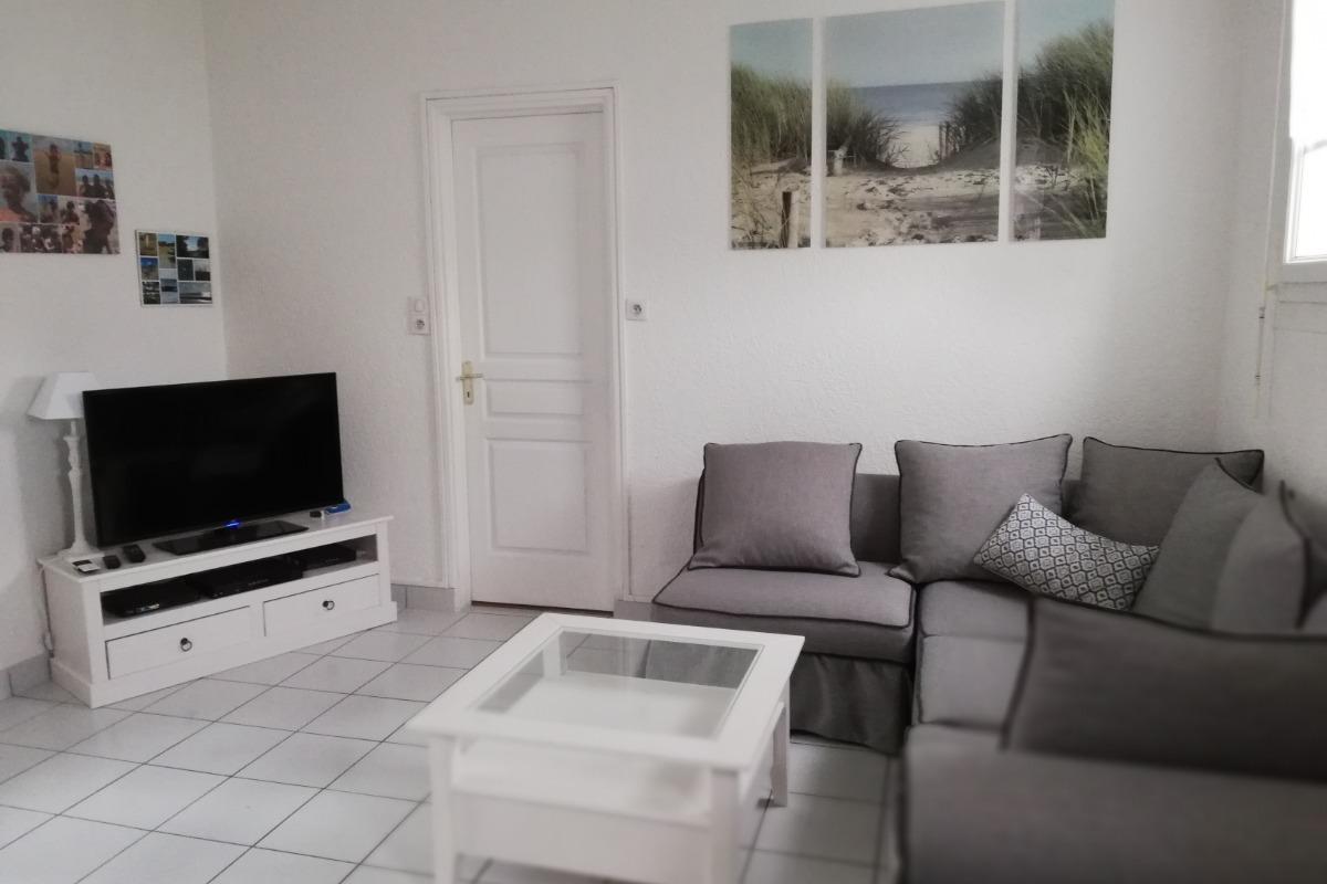 Le salon - Location de vacances - La Faute-sur-Mer