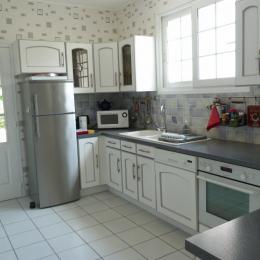La cuisine - Location de vacances - La Faute-sur-Mer