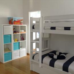La 2ème chambre comprend des lits superposés de 90.. - Location de vacances - La Faute-sur-Mer