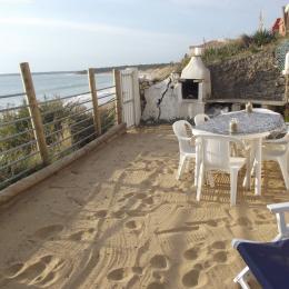 terrasse sur la mer avec  espace spa - Location de vacances - Longeville sur Mer