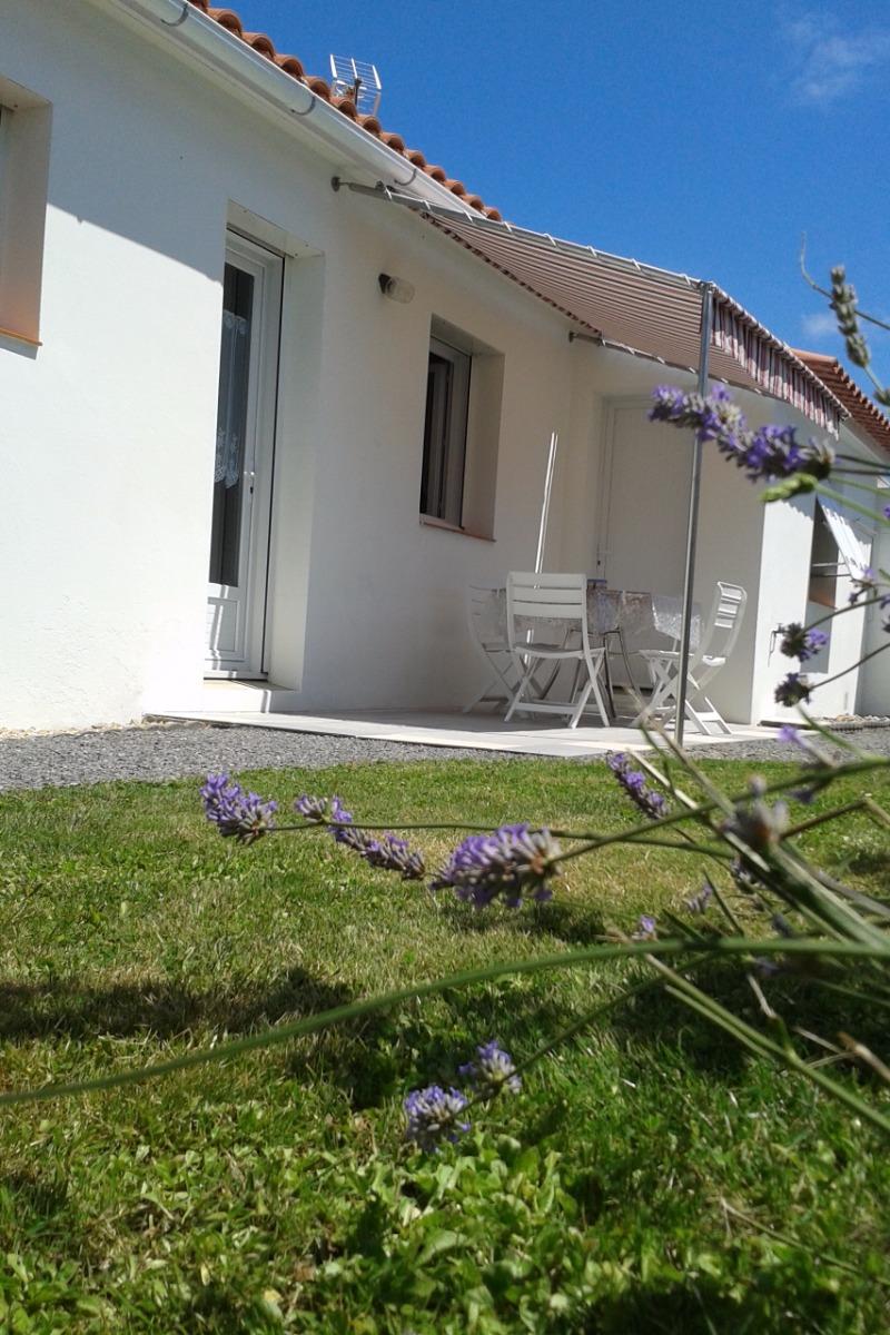 Terrasse - Location de vacances - Beauvoir sur Mer