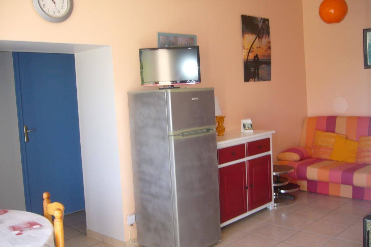 séjour côté chambres - Location de vacances - Saint Michel en l'Herm