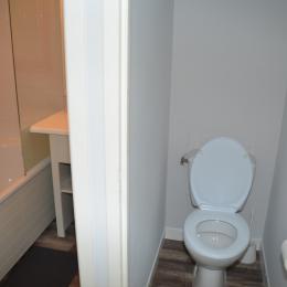 Salle de bain et WC - Location de vacances - Château d'Olonne