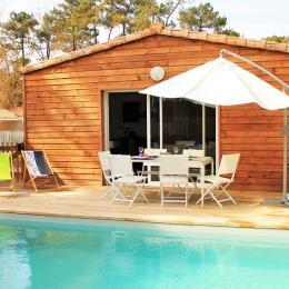 Villa Althaé avec piscine chauffée, à deux pas de la plage des Conches - Location de vacances - Longeville sur Mer