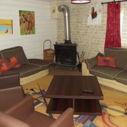 Espace commun - Chambre d'hôtes - Benet