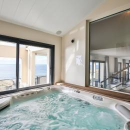 Duplex haut de gamme avec vue mer, spa et piscine intérieure privés - Location de vacances - Saint Hilaire de Riez