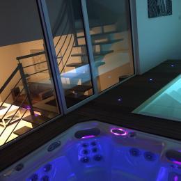 Espace privé Spa et piscine  - Location de vacances - Saint Hilaire de Riez