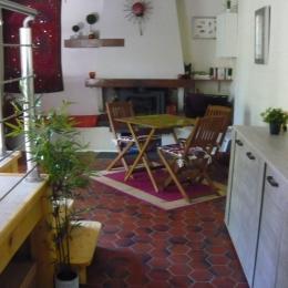 Le coin salle à manger - Location de vacances - Saint Sigismond