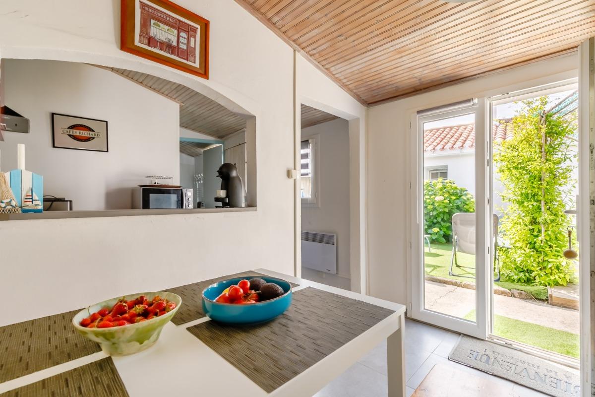 patio + terrasse - Location de vacances - L'Épine