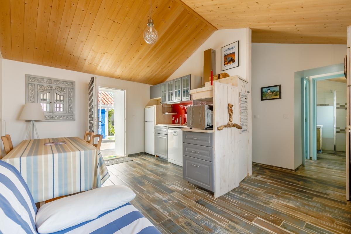 maison 1 - Cuisine - Location de vacances - L'Épine