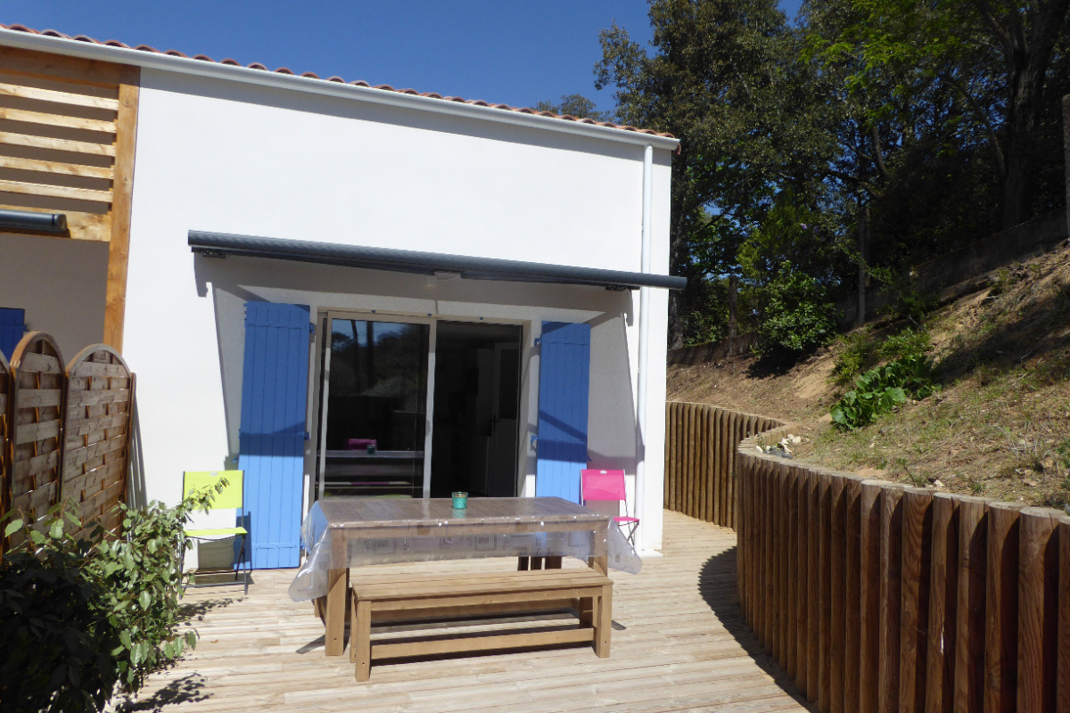 Terrasse principale - Location de vacances - Longeville sur Mer